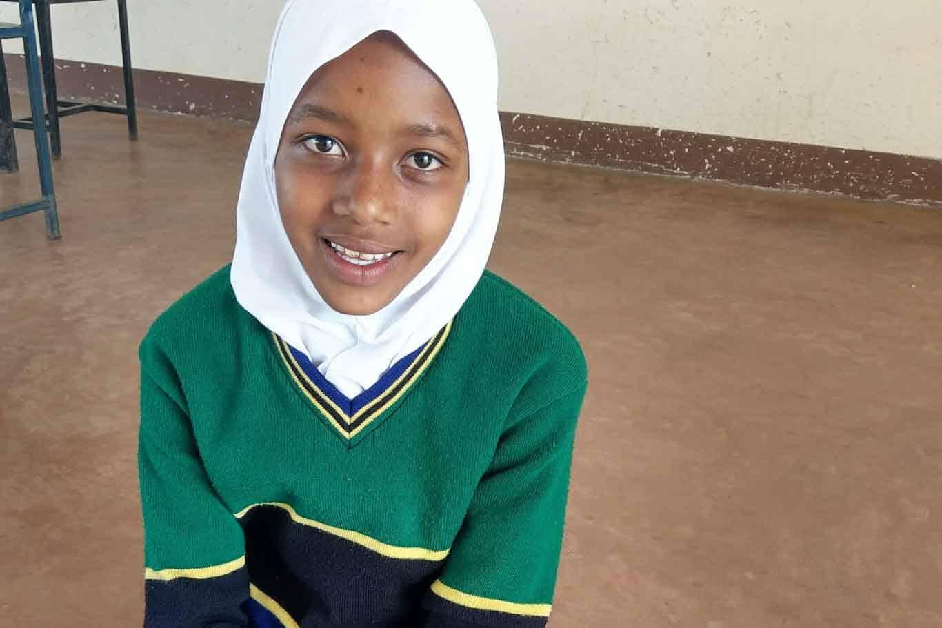 Misha, Challo Primary School in rural Tanzania.
