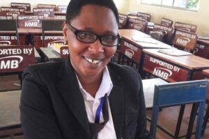 Judith a teacher at the Tanzanian Teachers' Training College