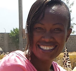 Jeddy Chepkurui Human Resources and Child Sponsorship Officer So They Can